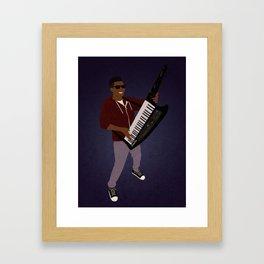 The KiiBoard Kid (Kola Bello) Framed Art Print