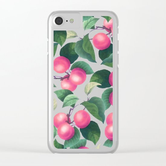 Tropical Fruit V2 #society6 #decor #buyart Clear iPhone Case