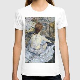 Henri De Toulouse Lautrec - Rousse T-shirt