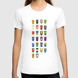 Superheroes Villains Mix  T-shirt