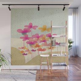 FlowerHill Wall Mural