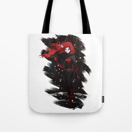 Crimson Night Tote Bag