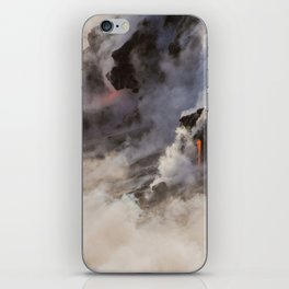 WATER MEETS LAVA iPhone Skin