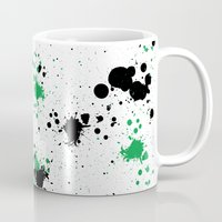 splatter Mugs featuring Splatter by Inphocus Photography
