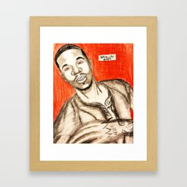 knockout Framed Art Print