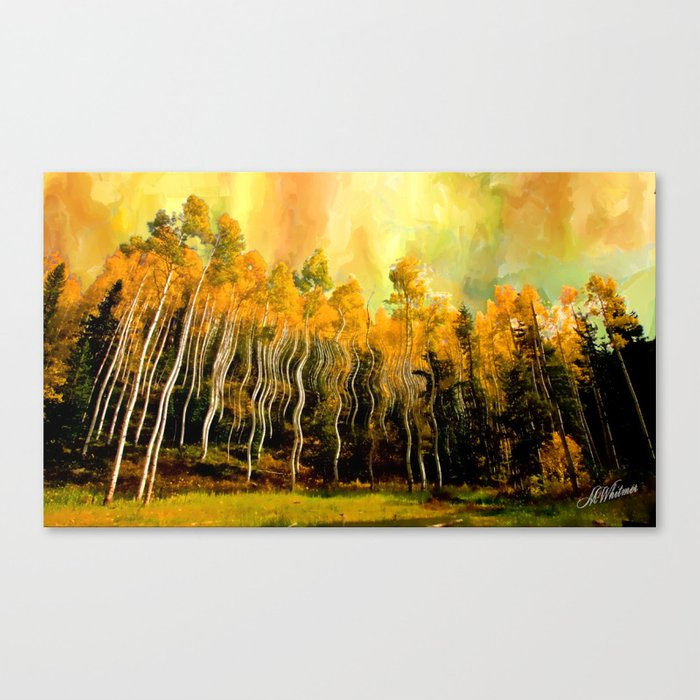 Aspen Brillance Canvas Print