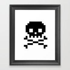 skullkid Framed Art Print