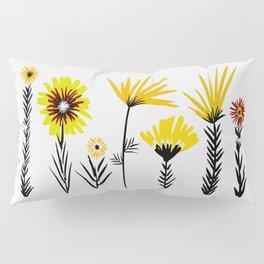 Sunny Days Ahead / floral art Pillow Sham