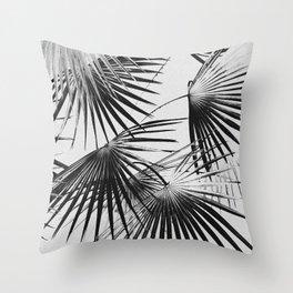 Tropical #5 (invert) Throw Pillow