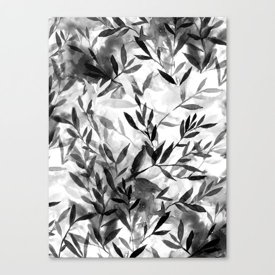 Changes BW Canvas Print