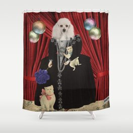 Animal Collection -- Jezebel Shower Curtain