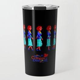 Nancy Maple Walk Cycle - The Crimson Diamond Travel Mug