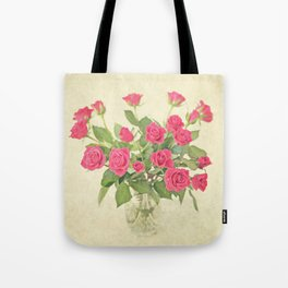 Bouquet of Roses Tote Bag