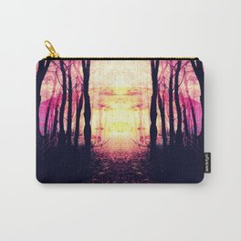 Path to Imagination : Mauve Pink Purple Carry-All Pouch