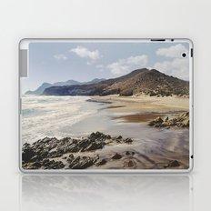 Half Moon beach. Retro Laptop & iPad Skin