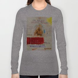 Gratuitous Simian Profanity. Long Sleeve T-shirt
