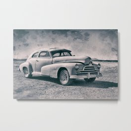 Pontiac At Sonoita Metal Print