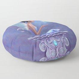 Opalite Fairy Floor Pillow