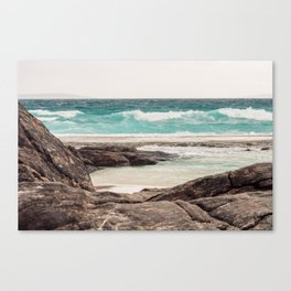 Watching the Waves Roll In Canvas Print