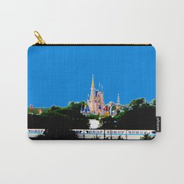 Castle & Monorail Carry-All Pouch