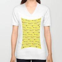spongebob V-neck T-shirts featuring spongebob  , spongebob  games, spongebob  blanket, spongebob  duvet cover by ira gora