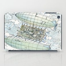 Flying over the montains iPad Case