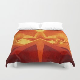 Mars - Cryptic Geysers Duvet Cover