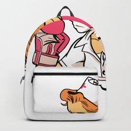 nurse boxer  Backpack
