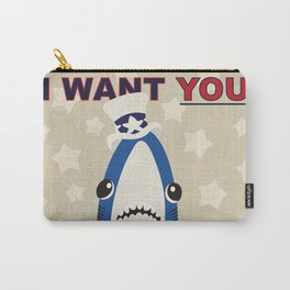 Left Shark Wants You Carry-All Pouch