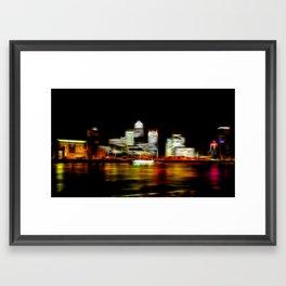 London Canary Wharf Framed Art Print