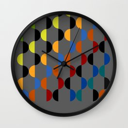 Abstract Composition 401 Wall Clock