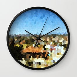 Puzzled Cyprus Wall Clock