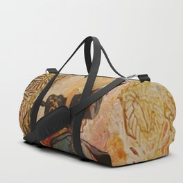 When Adventuring One Must Wear One's Finest Duffle Bag