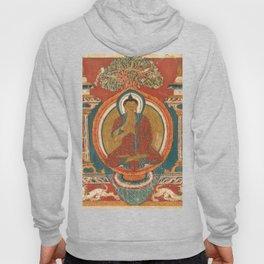 Preaching Sakyamuni 11th Century Tibetan Buddhist Art Hoody