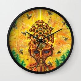 Hive-Mind Wall Clock