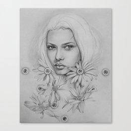 Eye Garden Canvas Print