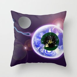 ANOTHER RETURN TO CONTINUE THE JOURNEY Throw Pillow