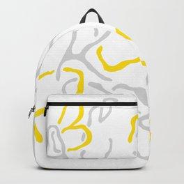 abecedario giallo Backpack