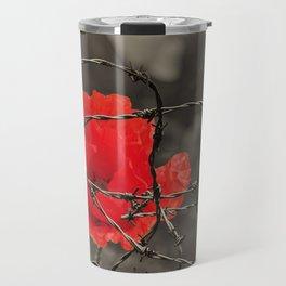 poppy - remembrance Travel Mug