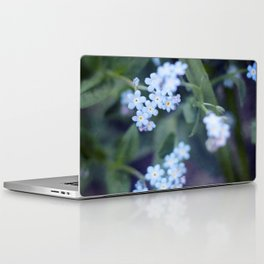 Forget-me-not Laptop & iPad Skin