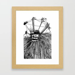 wired Framed Art Print