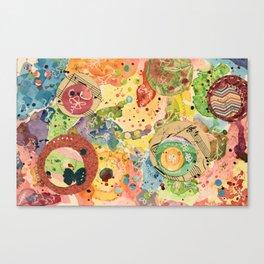 Color Play Canvas Print