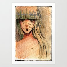 Time - Sketch Art Print