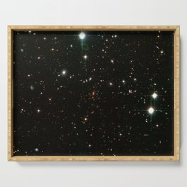 Hubble Space Telescope - The cluster RDCS1252.9-2927 (2003) Serving Tray