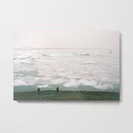 Jökulsárlón-Glacier lagoon Metal Print