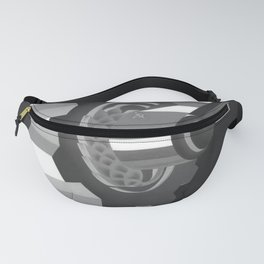 retro classic Plovdiv poster Fanny Pack