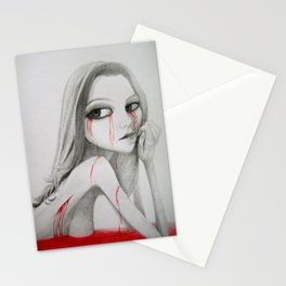 keep on rotting in the free world Stationery Cards