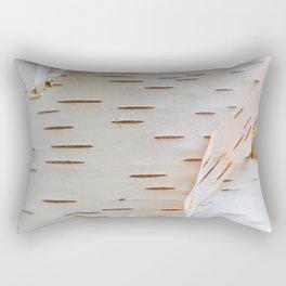 Paper Birch Rectangular Pillow