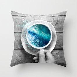 spoondrift II Throw Pillow