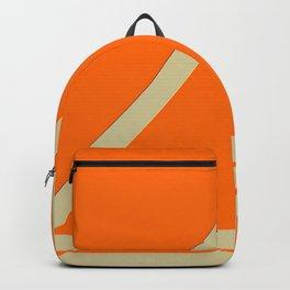 Orange shapes Backpack
